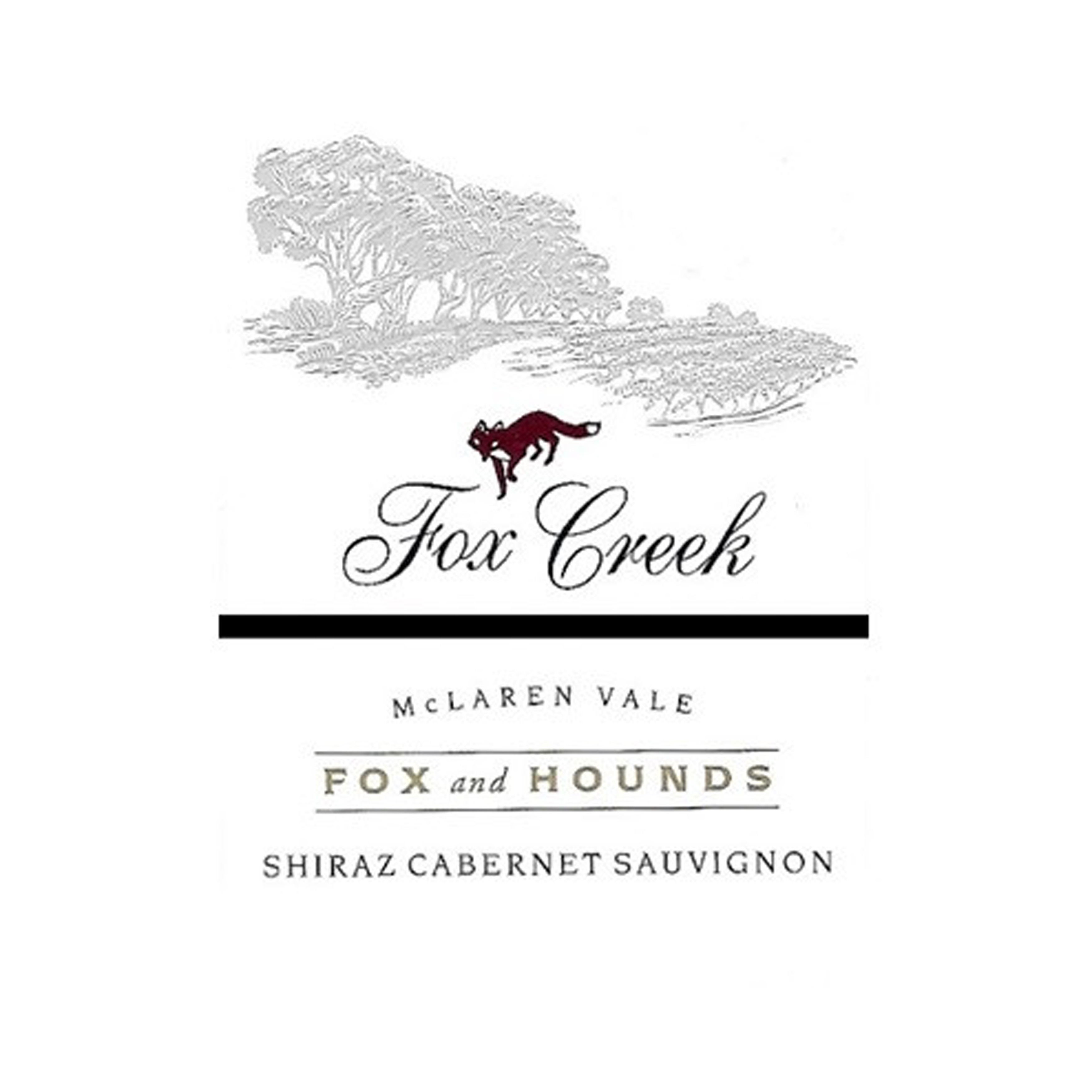 Fox Creek Fox & Hounds Shiraz Cabernet Sauvignon 2003 (12x75cl)