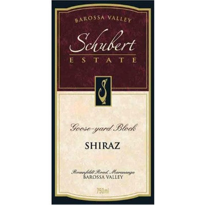 Schubert Estate Goose Yard Block Shiraz 2005 (1x150cl)