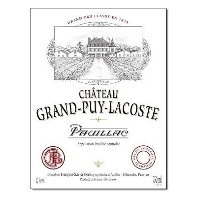 Grand-Puy-Lacoste 2019 (6x75cl)