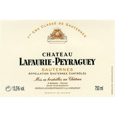 Lafaurie-Peyraguey 2001 (6x150cl)