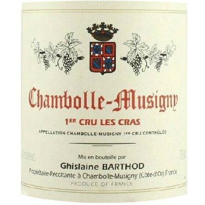 Ghislaine Barthod Chambolle-Musigny 1er Cru Les Cras 2015 (6x75cl)