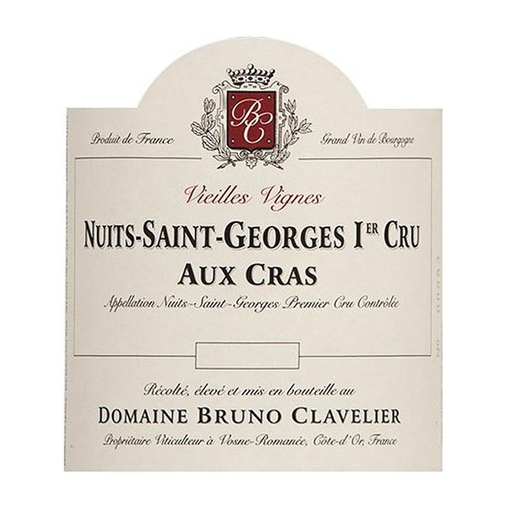 Bruno Clavelier Nuits Saint Georges 1er Cru Cras 2014 (6x75cl)