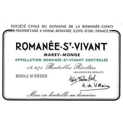 Domaine de la Romanee-Conti Romanee-Saint-Vivant Grand Cru 1999 (6x75cl)