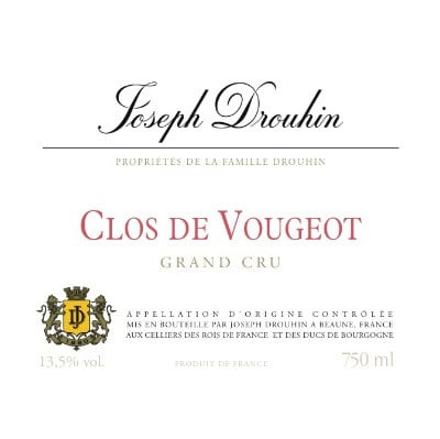 Joseph Drouhin Clos de Vougeot Grand Cru 2018 (6x75cl)