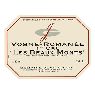 Jean Grivot Vosne-Romanee 1er Cru Les Beaux Monts 2018 (6x75cl)