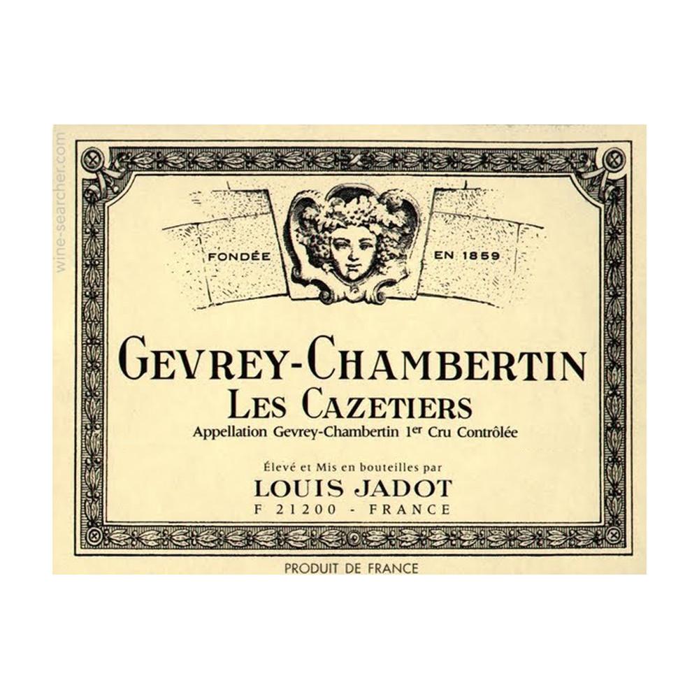 Louis Jadot Gevrey-Chambertin 1er Cru Les Cazetiers 2018 (6x75cl)