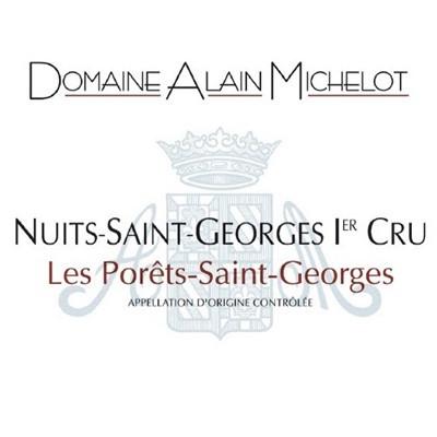 Alain Michelot Nuits-Saint-Georges 1er Cru Les Porets-Saint-Georges 2004 (12x75cl)