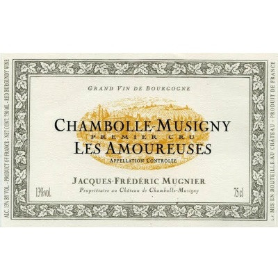 Jacques Frederic Mugnier Chambolle-Musigny 1er Cru Les Amoureuses 2011 (6x75cl)