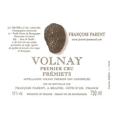 Francois Parent Volnay 1er Cru Fremiets 2010 (12x75cl)