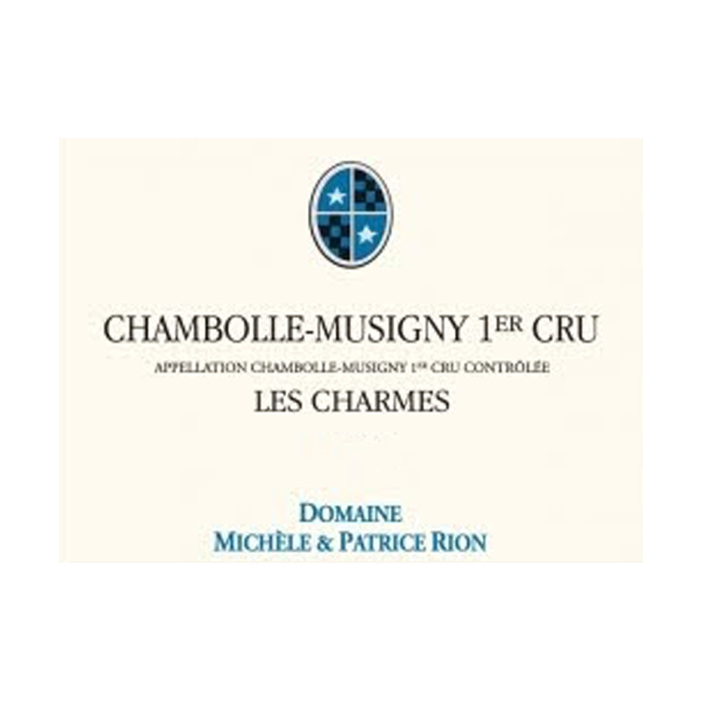 Michele et Patrice Rion Chambolle-Musigny 1er Cru Les Charmes 2015 (6x75cl)