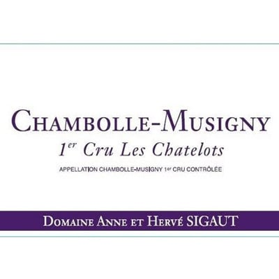 Anne & Herve Sigaut Chambolle-Musigny 1er Cru Les Chatelots 2008 (6x150cl)