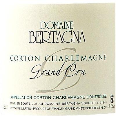 Bertagna Corton-Charlemagne Grand Cru 2015 (6x75cl)