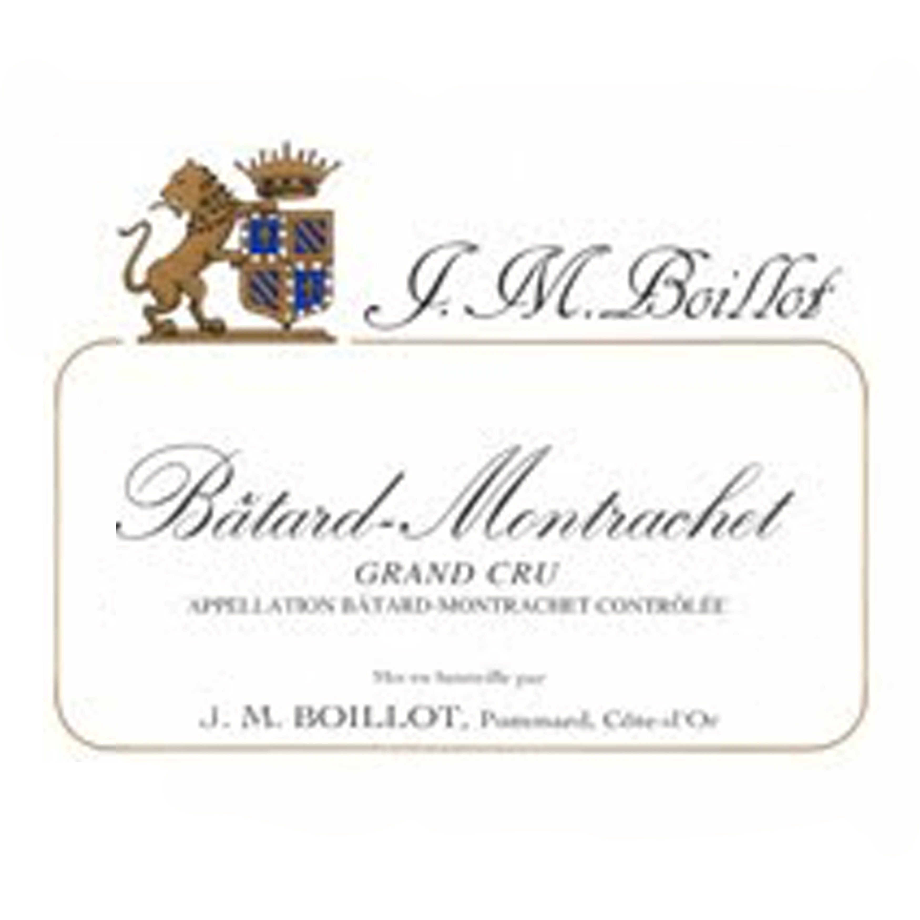 Jean-Marc Boillot Batard-Montrachet Grand Cru 2018 (3x75cl)