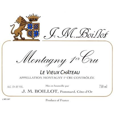 Jean-Marc Boillot Montagny 1er Cru Le Vieux Chateau 2018 (6x150cl)