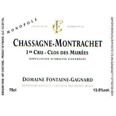 Fontaine-Gagnard Chassagne-Montrachet 1er Cru Clos des Murees 2018 (6x75cl)