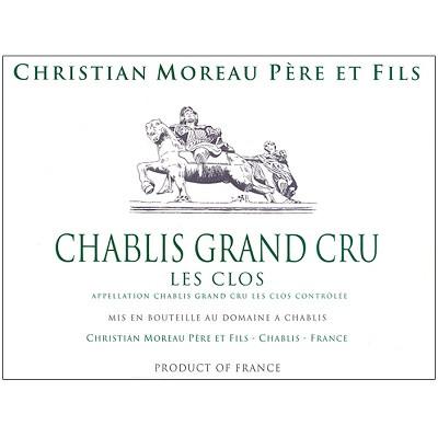 Christian Moreau Chablis Grand Cru Les Clos 2018 (6x75cl)
