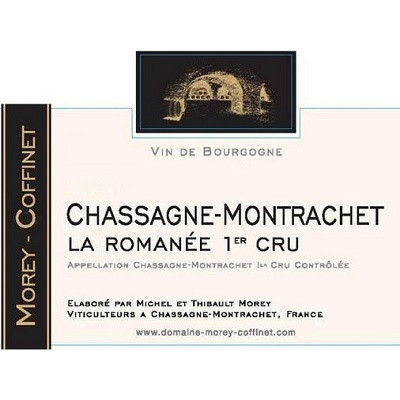 Morey-Coffinet Chassagne-Montrachet 1er Cru La Romanee 2018 (12x75cl)