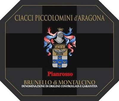 Ciacci Piccolomini Brunello di Montalcino Pianrosso 2006 (3x150cl)