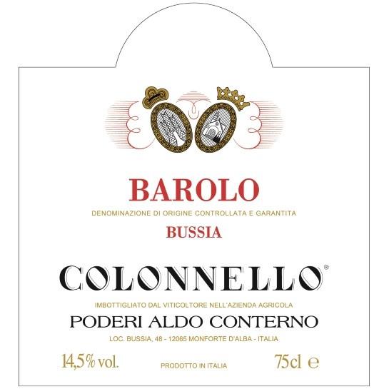 Aldo Conterno Barolo Colonnello 2010 (6x75cl)