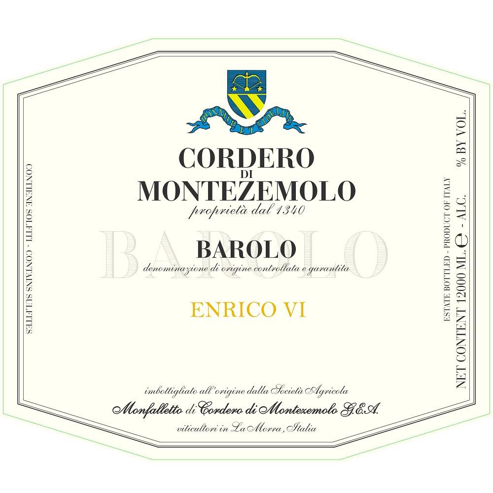 Cordero di Montezemolo Barolo Enrico VI 2016 (6x75cl)