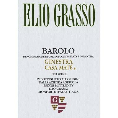 Elio Grasso Barolo Ginestra Casa Mate 2016 (1x150cl)