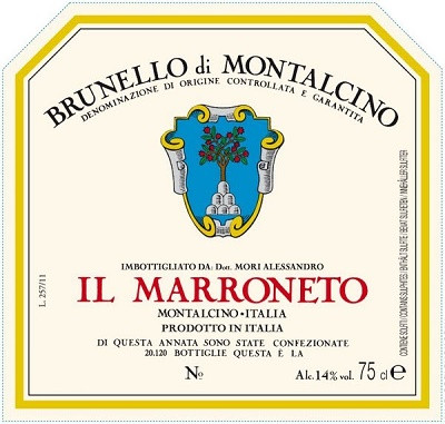 Il Marroneto Brunello di Montalcino 2012 (6x75cl)