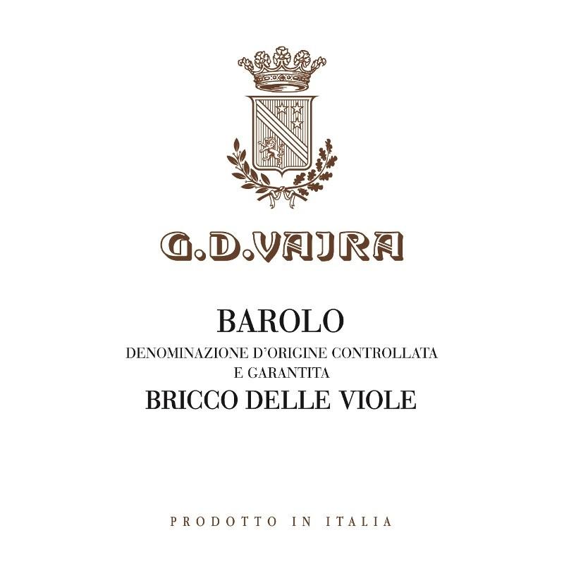 GD Vajra Barolo Bricco Delle Viole 2016 (6x150cl)