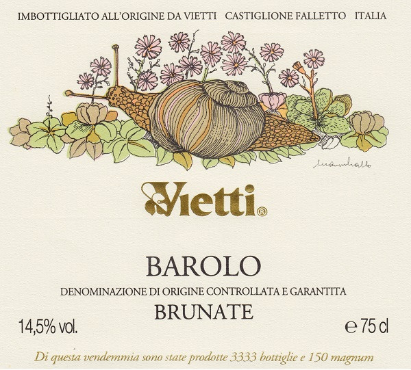 Vietti Barolo Brunate 2016 (6x75cl)