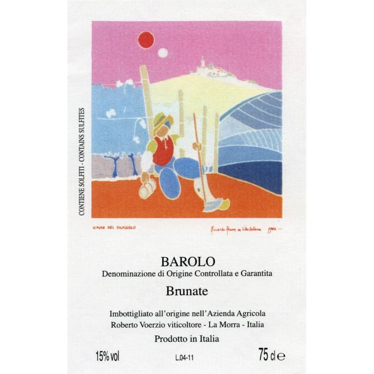 Roberto Voerzio Barolo Brunate 2005 (12x75cl)