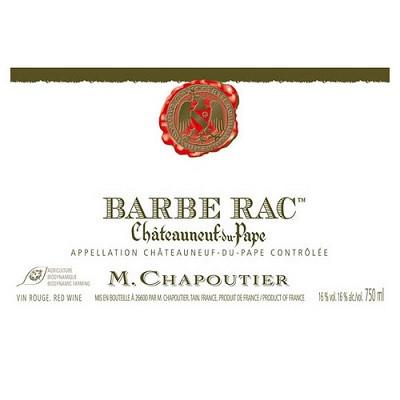 Chapoutier Chateauneuf-du-Pape Barbe Rac 2013 (6x75cl)