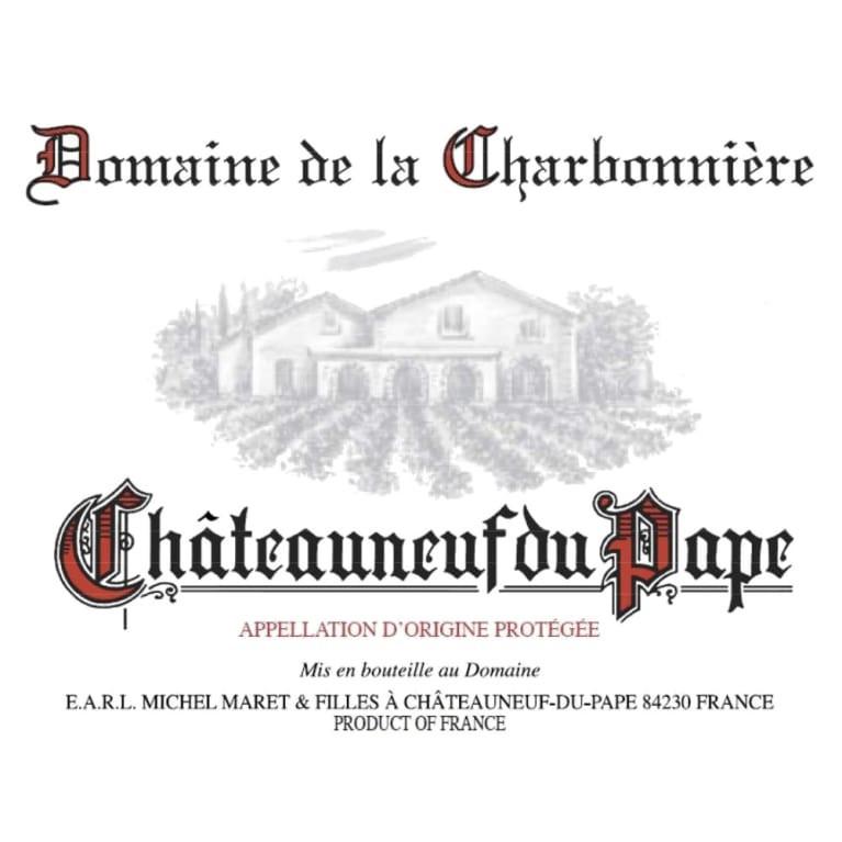 Domaine de la Charbonniere Chateauneuf-du-Pape 2018 (6x75cl)