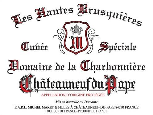 Domaine de la Charbonniere Chateauneuf-du-Pape Les Hautes Brusquieres 2018 (6x75cl)