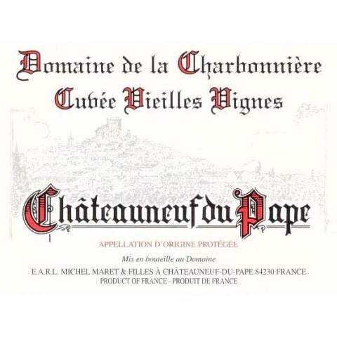 Domaine de la Charbonniere Chateauneuf-du-Pape VV 2018 (6x75cl)