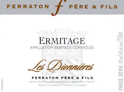 Ferraton Pere & Fils Ermitage Les Dionnieres 2016 (6x75cl)