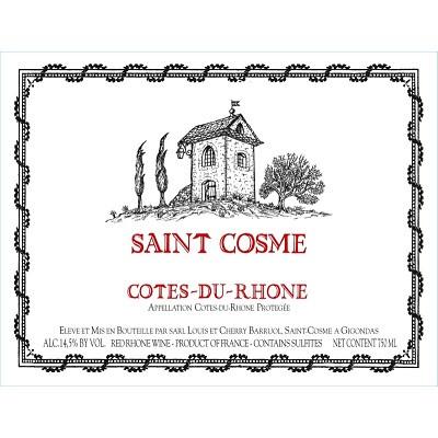Saint Cosme Cotes-du-Rhone 2017 (6x150cl)