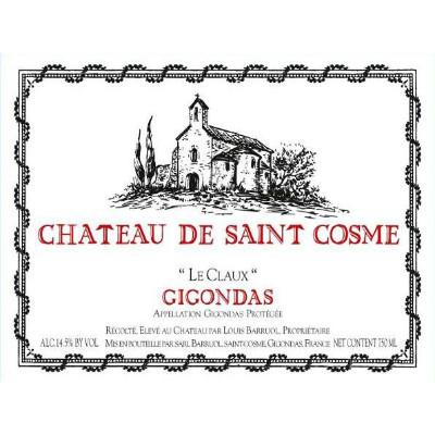 Saint Cosme Gigondas Le Claux 2012 (6x75cl)