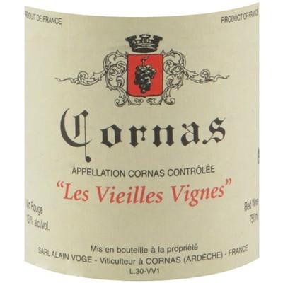Alain Voge Cornas VV 2015 (12x75cl)