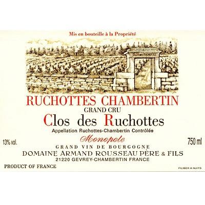 Armand Rousseau Ruchottes-Chambertin Clos des Ruchottes Grand Cru 2008 (12x75cl)