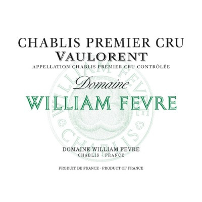 William Fevre Chablis 1er Cru Vaulorent 2015 (3x150cl)