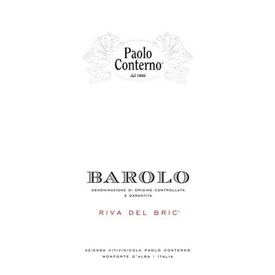 Paolo Conterno Barolo Riva del Bric 2012 (6x75cl)
