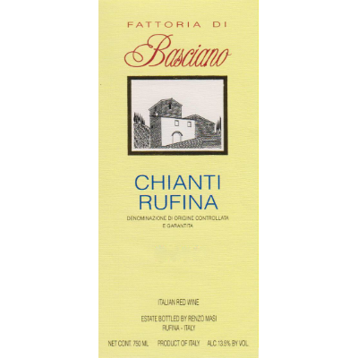 Fattoria di Basciano Chianti Rufina 2017 (6x75cl)