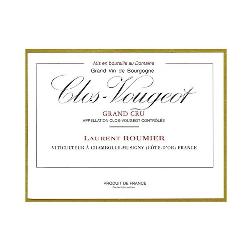 Laurent Roumier Clos-Vougeot Grand Cru 2014 (6x75cl)