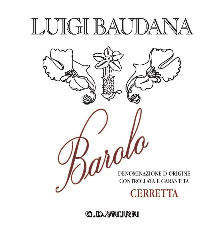 Luigi Baudana Barolo Cerretta 2014 (6x75cl)