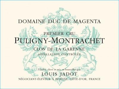 Louis Jadot (Duc Magenta) Puligny Montrachet 1er Cru Clos de la Garenne 2018 (6x75cl)