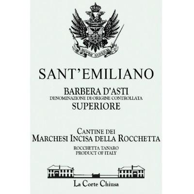 Incisa della Rocchetta Barbera d'Asti Sant Emiliano Superiore 2012 (6x75cl)