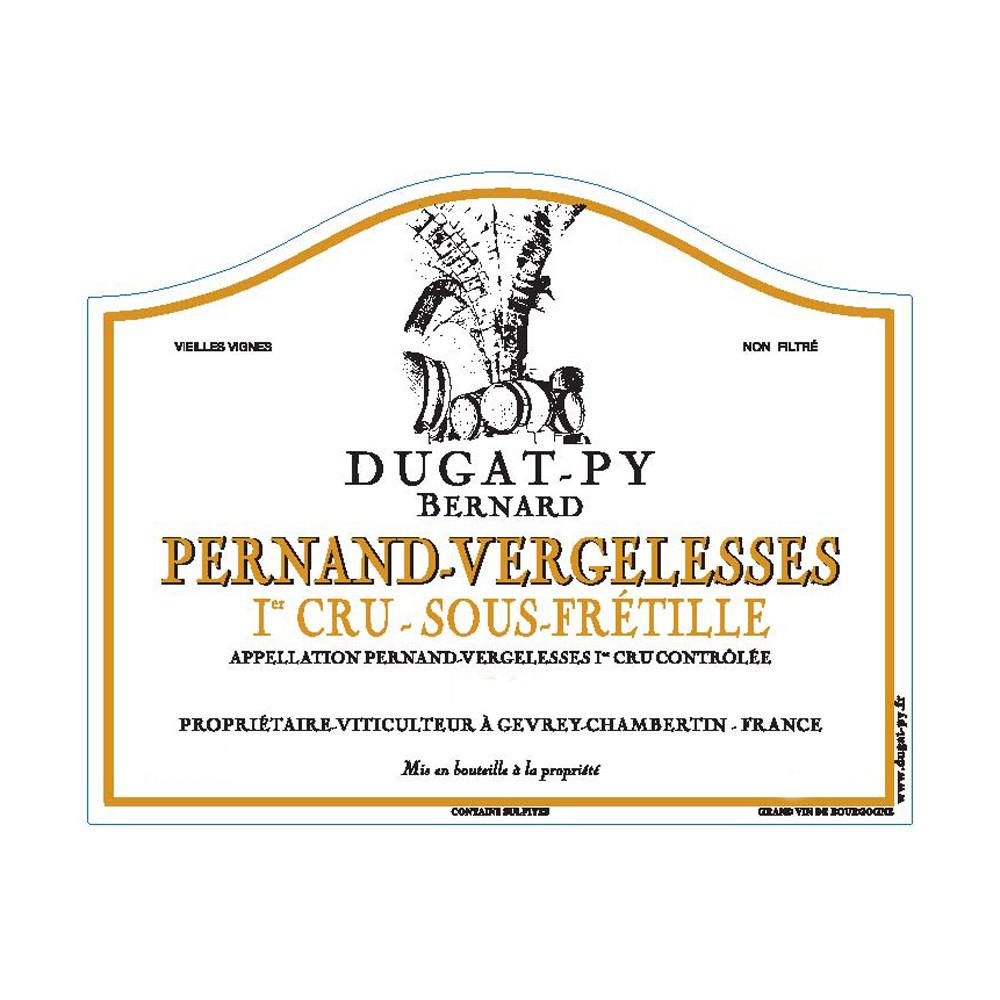 Bernard Dugat-Py Pernand-Vergelesse 1er Cru Sous Fretille 2019 (6x75cl)