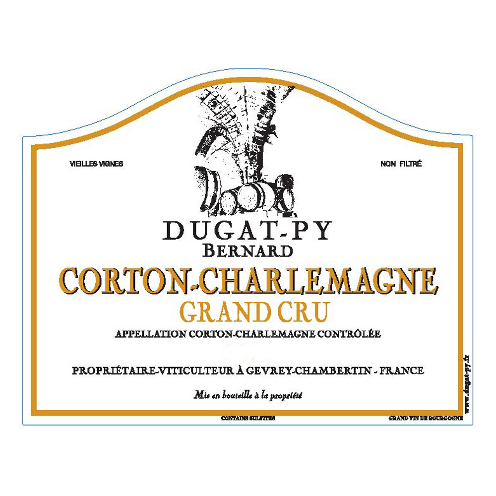 Bernard Dugat-Py Corton-Charlemagne Grand Cru 2019 (6x75cl)