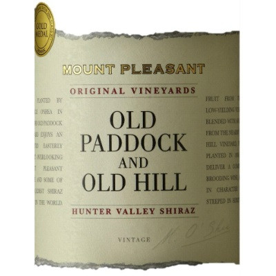 Mount Pleasant Old Paddock and Old Hill Shiraz 2014 (6x75cl)