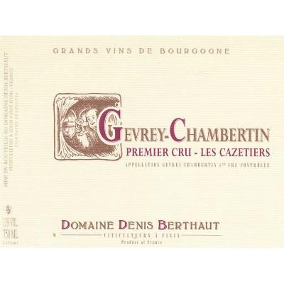Berthaut-Gerbet Gevrey-Chambertin 1er Cru Les Cazetiers 2018 (3x75cl)