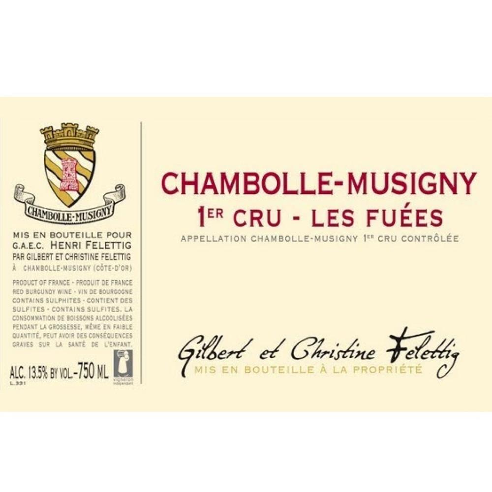 Felettig Chambolle-Musigny 1er Cru Les Fuées 2017 (6x75cl)